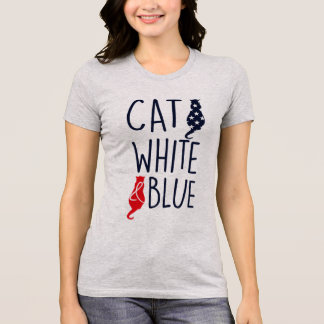 Camiseta Amantes americanos do gato