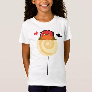 Camiseta Amantes customizáveis dos doces do Dia das Bruxas