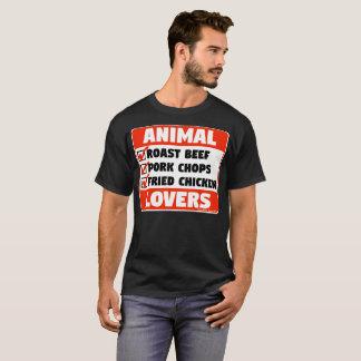 CAMISETA AMANTES DE OS ANIMAIS
