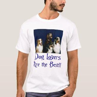 Camiseta Amantes do cão