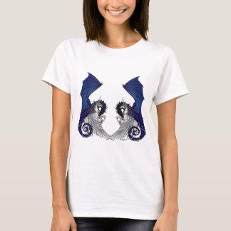 Camiseta Amantes do unicórnio e do casamento do dragão