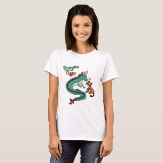 Camiseta Amantes do zodíaco de DragonxTiger