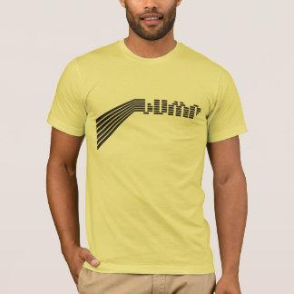 Camiseta Amarelo amarelo da colisão