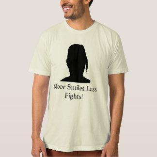 Camiseta Amarre/mais sorriso menos lutas M1