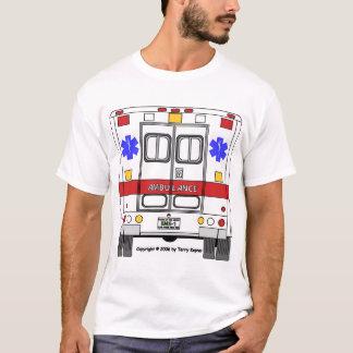 Camiseta Ambulância dos serviços médicos da emergência
