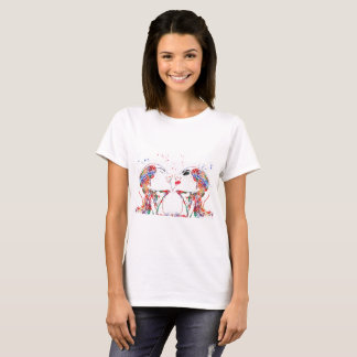 Camiseta Ame a arte, anatomia da cara, anatomia do cérebro,