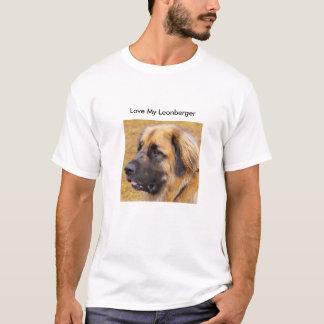 Camiseta Ame meu Leonberger