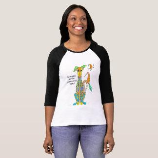 Camiseta Ame-o à lua e às estrelas!