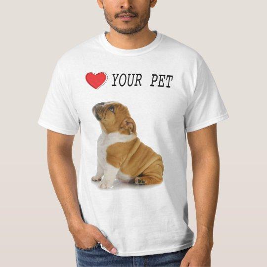 Camiseta Ame seu pet