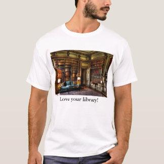 Camiseta Ame sua biblioteca!