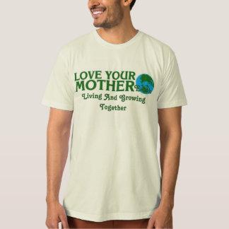 Camiseta Ame sua Mãe Terra que vive e que cresce junto
