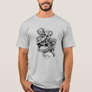 Camiseta Ame Thy vizinho (o design do tatuagem)