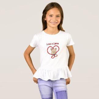 Camiseta Ame um lama