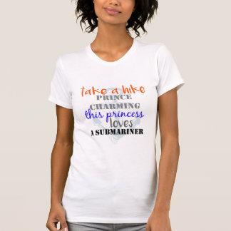 Camiseta ame um submarinista