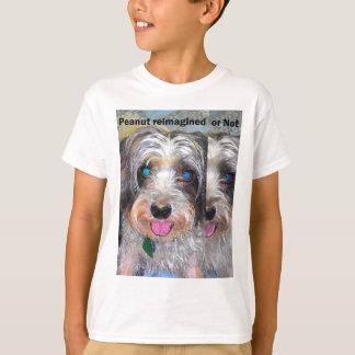 Camiseta amendoim o cão do salvamento