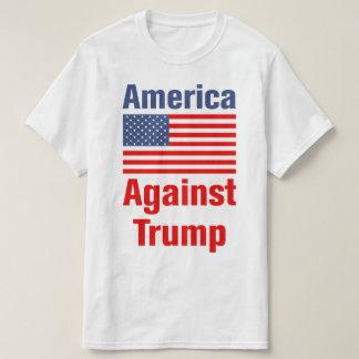 Camiseta América contra o trunfo