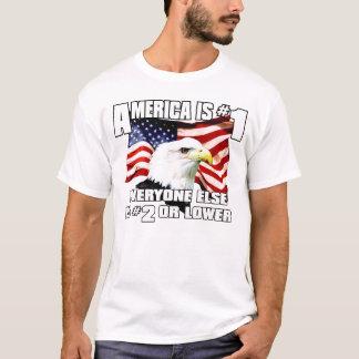 Camiseta América é o número 1