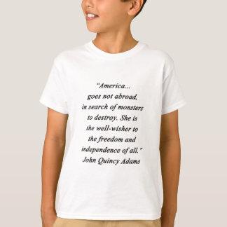 Camiseta América no exterior - John Q Adams