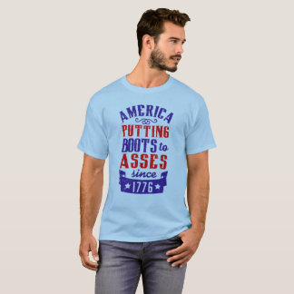 Camiseta América que pôr botas aos burros 2