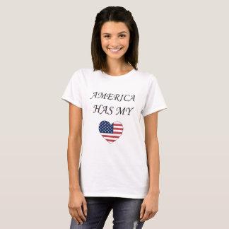 Camiseta América tem meu coração