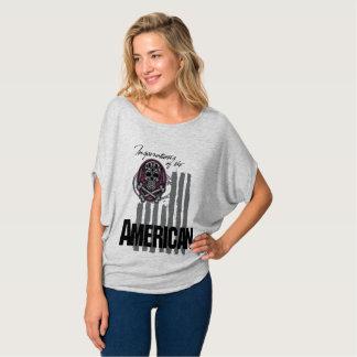 Camiseta American Skull
