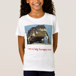 Camiseta americano-crocodilo