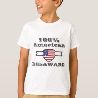 Camiseta Americano de 100%, Delaware