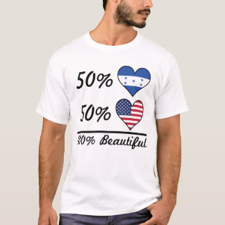 Camiseta Americano do Honduran 50% de 50% 100% bonito