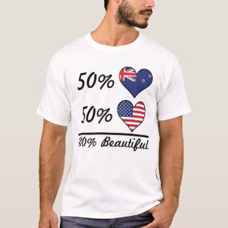 Camiseta Americano do quivi 50% de 50% 100% bonito