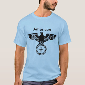 Camiseta Americano forte Eagle - o TShirt dos homens