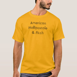 Camiseta Americano Hollipostale & Fitch