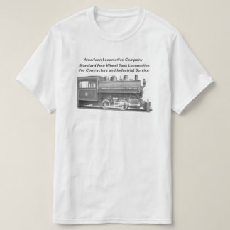 Camiseta Americano Locomotiva Empresa 0-4-0 T