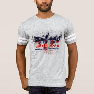 Camiseta Americano orgulhoso