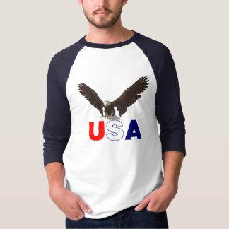 Camiseta Americano orgulhoso Eagle