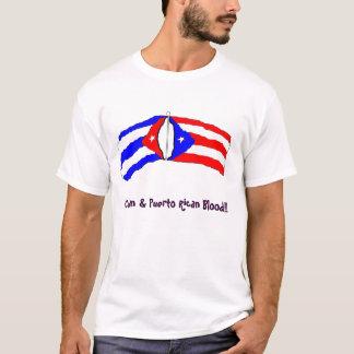 Camiseta Americano porto-riquenho cubano