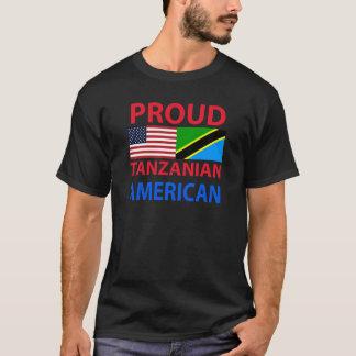 Camiseta Americano tanzaniano orgulhoso