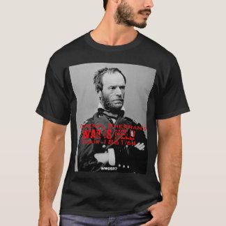 Camiseta Americano Visita T-shirt do general Sherman