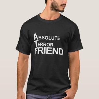 Camiseta amigo absoluto do terror