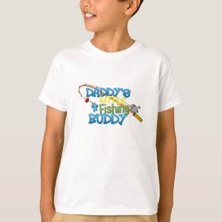 Camiseta Amigo da pesca do pai pouco