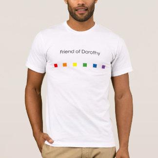 Camiseta Amigo do arco-íris de Dorothy - luz