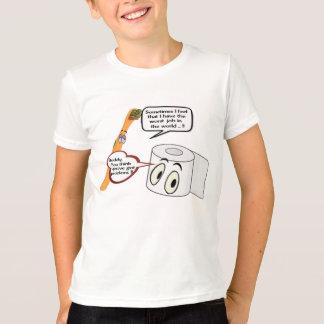 Camiseta amigo que você pensa que o you've obteve umas