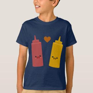 Camiseta Amigos da ketchup & da mostarda