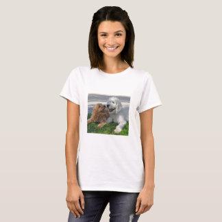 Camiseta Amigos de Goldendoodle