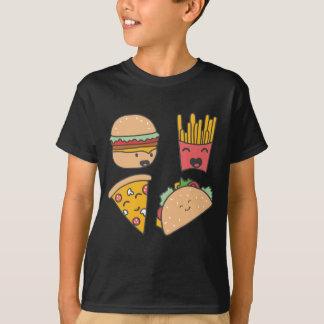 Camiseta amigos do fast food
