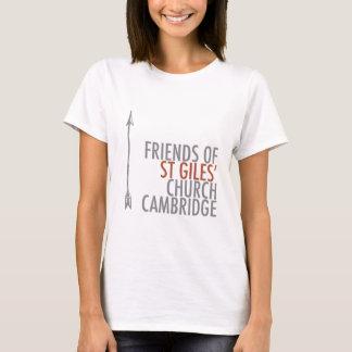 Camiseta Amigos do logotipo de St Giles