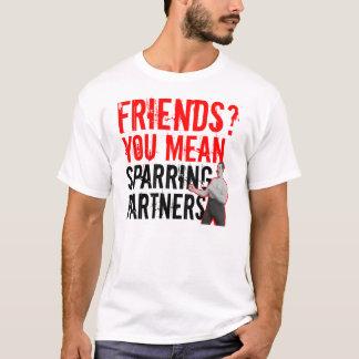 Camiseta Amigos? Você significa o t-shirt do Muttahida