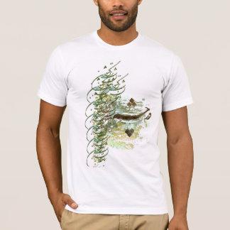 Camiseta amizade do paraíso