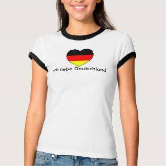"""Camiseta """"amo Alemanha"""" futebol Alemanha"""