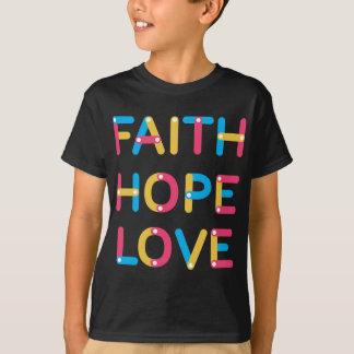 Camiseta amor 2 da esperança da fé