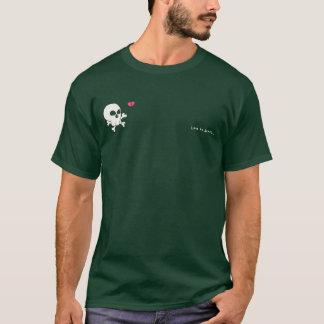 Camiseta amor à morte
